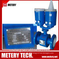 Battery operated flange type electromagnetic flow meter/flow meter china