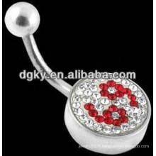 Le numéro de vente à chaud réduit les bijoux piercing