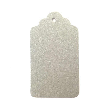 Color Available 300 Gsm Paper Recycled Gold Foil Hang Tag