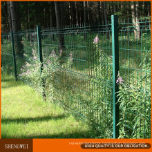 Galvanized Then PVC Coated Iron Steel Wire Mesh Net Fencing