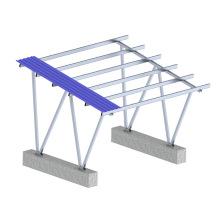 Kit de montaje de panel solar hermético Sistema de estacionamiento de plataforma solar