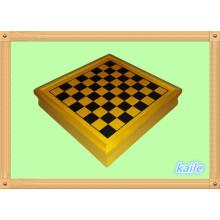 Juego de madera 5 en 1 juego de ajedrez multi al por mayor