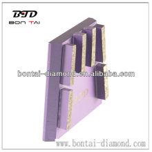 Bloque de cuña de diamante con 6 (seis) segmentos rectangulares