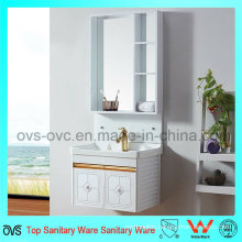 2017 Latest Fashion Top Design Aluminum Cabinets Vanity