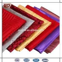 Garantía de Comercio Elegant Luxury 100Polyester Embossed Damask Table Cotton Napkin Plegable