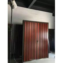 Nova porta de segurança de metal de aço de design