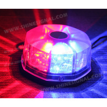 B101 LED Strobe Beacons with Cigarette and Magnet Mounted