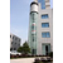 Panorama-Aufzug mit Sicherheits-Verbundglas für gute Sicht