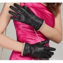 New Arrival Winter Classic Lady Fashion Gant de peau en peau de mouton