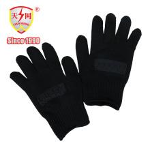 Gants de protection en nylon de haute qualité de garde de sécurité de police