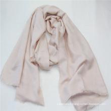 new women Plain camel color long scarf fringe on four side super soft hand feeling