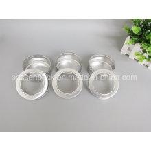 Aluminium-Lebensmittelverpackungsbehälter mit Fensterkappe (Ppc-Atc-075