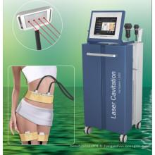 Diode Lipo Laser + Cavitation + RF + vide amincissant la machine (LS650)