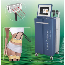 Diode Lipo Laser+Cavitation +RF+Vacuum Slimming Machine (LS650)