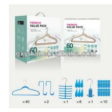 2013 promotional flocking hanger