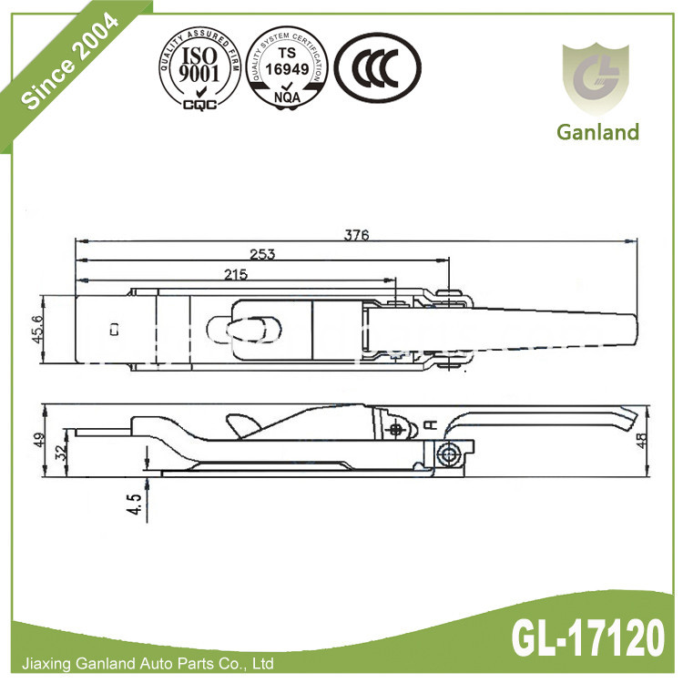 Over Center Fastener GL-17120