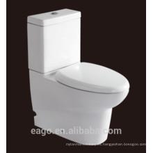 EAGO marca de agua cerámica dos piezas s trampa doble inodoro WA379S / SA3790