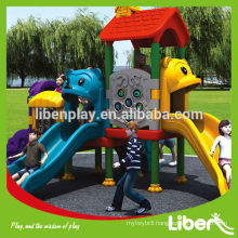 garden playground equipment,plastic slide,outdoor playground for children LE.QT.017.01