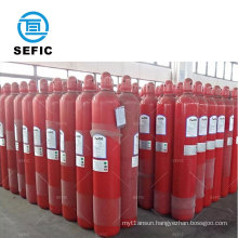 Used for fire fighting 34CrMo4 200bar 68L seamless steel co2 cylinder 68l