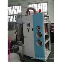 Secador de desumidificação de plástico com carregador Tudo num secador compacto