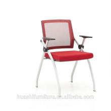T-083SH-MF à la mode et simple style chaise pliante en acier inoxydable