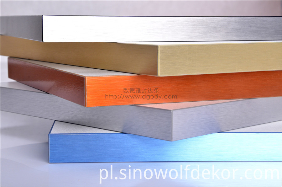 Aluminum Edge Banding For Metallic Furniture