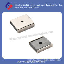Channel Magnet/Latch Magnets with Ni Plated