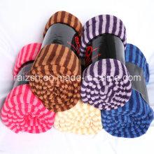 Manta multifuncional con manta con flecos Coral Fleece Towel Manta