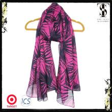 bright-colored print spring shawl