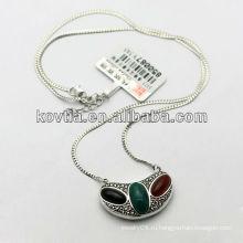 Мода серебряные ювелирные изделия 925 ожерелье стерлингового серебра