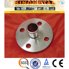 F304/316 Stainless Steel Press Inox Flange with Pressing Socket