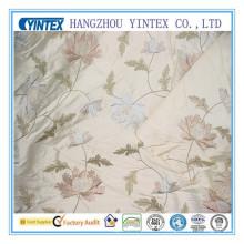 Tissu imprimé en soie (yintex-tissu)