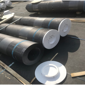 Graphite Electrode With 4TPI Nipples For Ladle Furnace