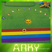 Arky Green Relaxation Artificial Grass Design
