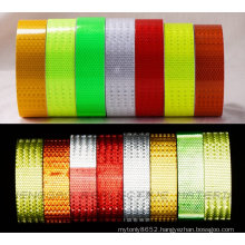 Car Reflective Safety Warning Conspicuity Roll Tape Film Sticker (C3500-O)