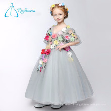 Hand Made Flowers Ball Gown Cute Little Flower Girl Dresses