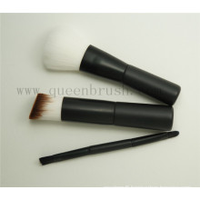 Mini 3PCS Plastic Handle Travel Cosmetic Brush Set