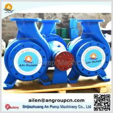 Pompes centrifuges horizontales à gaz fermés fermées à l'eau