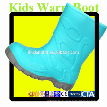 JX-916LB colorful TPR Kids Warm Boots for Kids