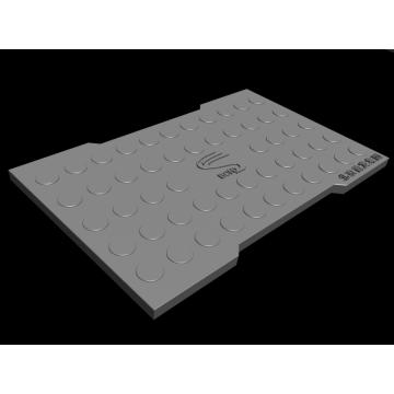 Placa de cubierta de polvo reactivo
