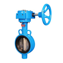 Wafer Type Butterfly Valve with Gear Operator
