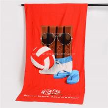 Toallas de playa de microfibra personalizadas promocionales