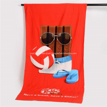 Promotional Custom Microfiber Beach Towels