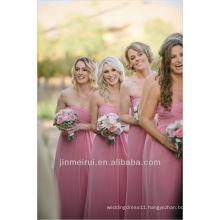 Dynamite and Pearls Wedding Pink Bridesmaid Dress Bride Maid Dresses Free Shipping HDN6