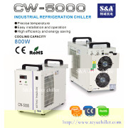 Air cooled water chiller system S&A CW-5000