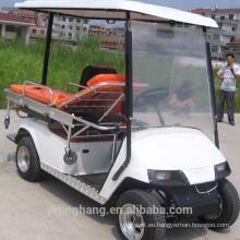 Carro de golf de rescate eléctrico
