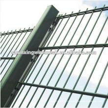 Забор из двух проволочной сетки