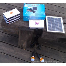 a High Quality Solar Power LED Lighting Kits System with SGS Report
