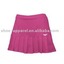 Muestra ligera al por mayor de las faldas de tenis rosadas ligeras