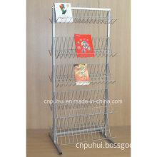 Floor Standing Metal Wire Calendar Rack (PHY389)